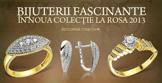 Bijuterii fascinante în noua colecţie La Rosa 2013