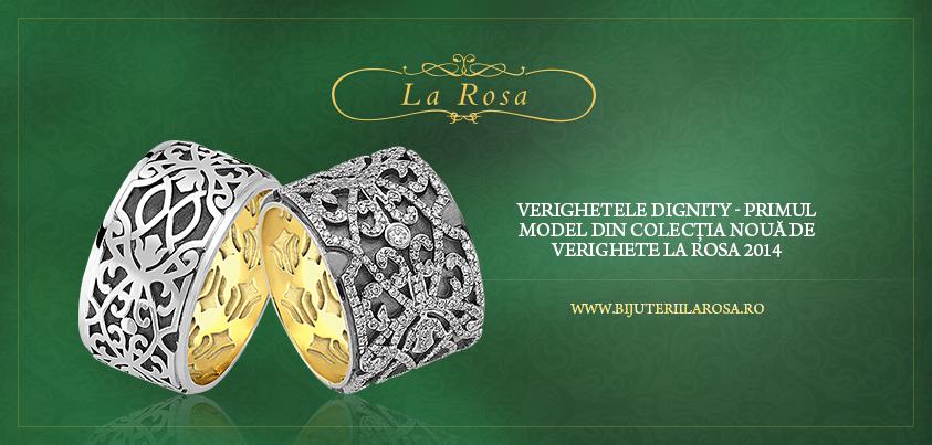 Verighetele Dignity Primul Model De Verighete Din Colecţia La Rosa