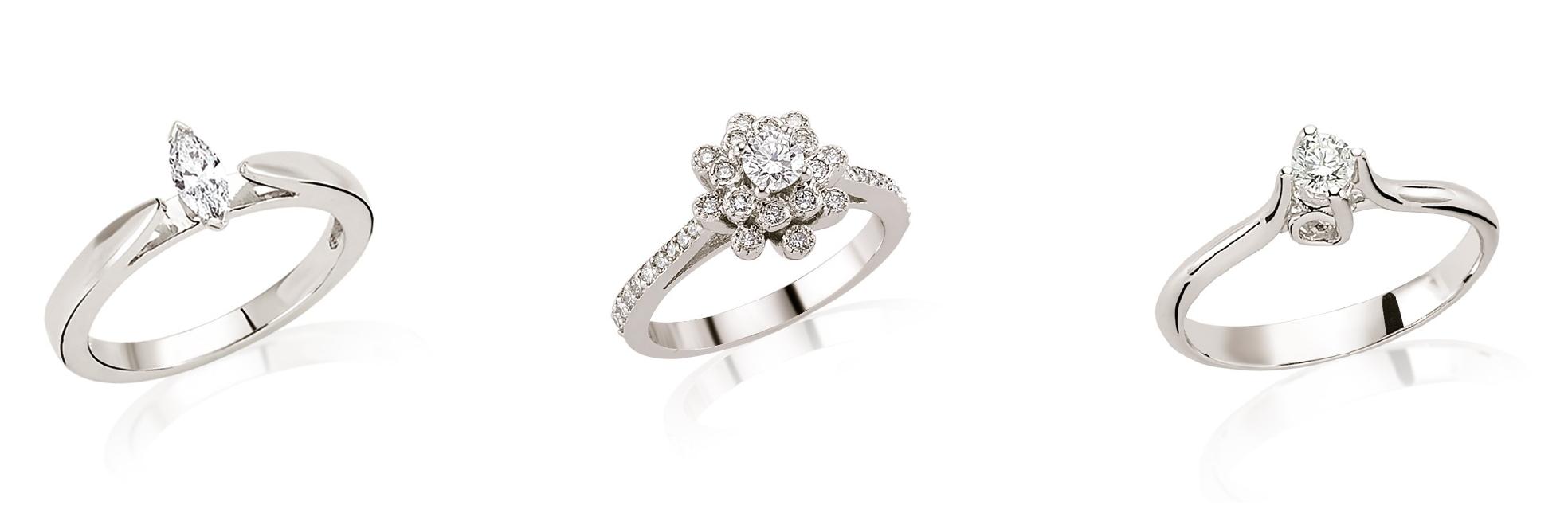 inel de logodna la rosa