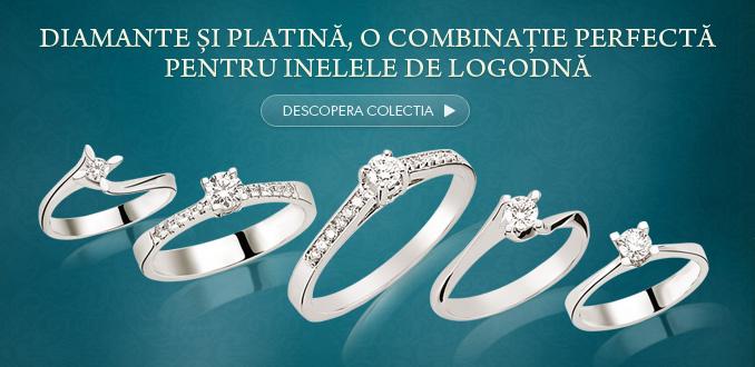 Diamante și platină, o combinație perfectă pentru inelele de logodnă